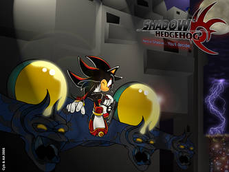 Shadow the Hedgehog by AdoubleA