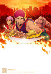 The Voyages of Sinbad Cover by DonoMX