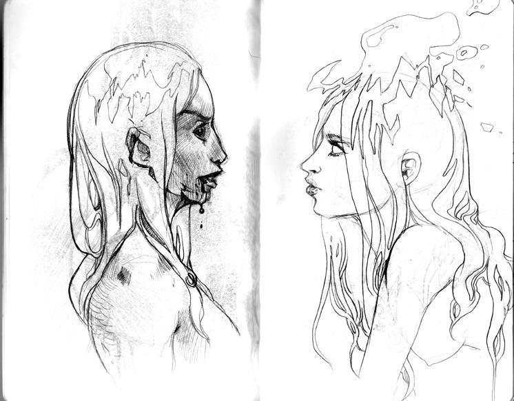 Two Women by DonoMX