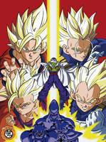 Dragon Ball Gaiden VJump Cover by Genkidbz