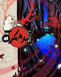okami by skywolf16