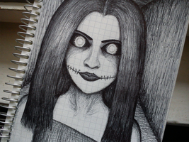 Horror sketch by Younit13