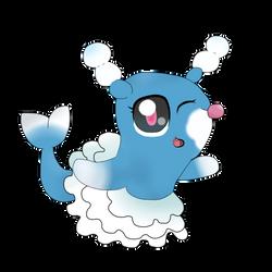 Pokemon Brionne  by DanellaScattolon