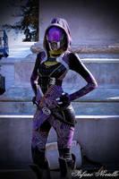 Tali'Zorah cosplay by Ruby-Rust
