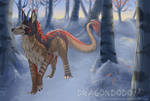 :AE: Winter wanderings by DragonDodo