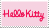Hello Kitty Stamp by Reinaasaur