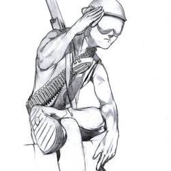 Renegade Colonial Soldier John by 4z0te