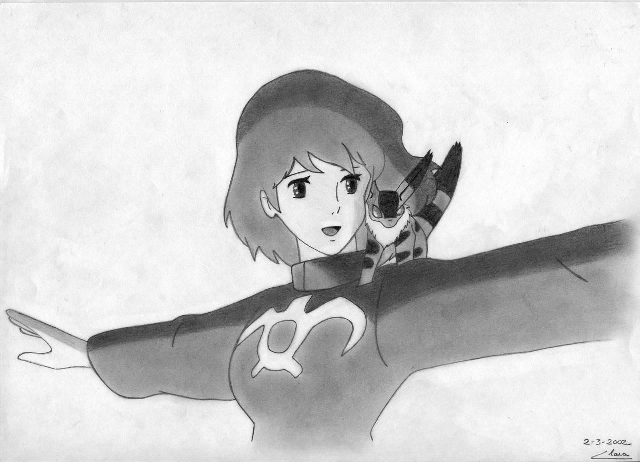 Nausicaa and Teto by ClaraDarko