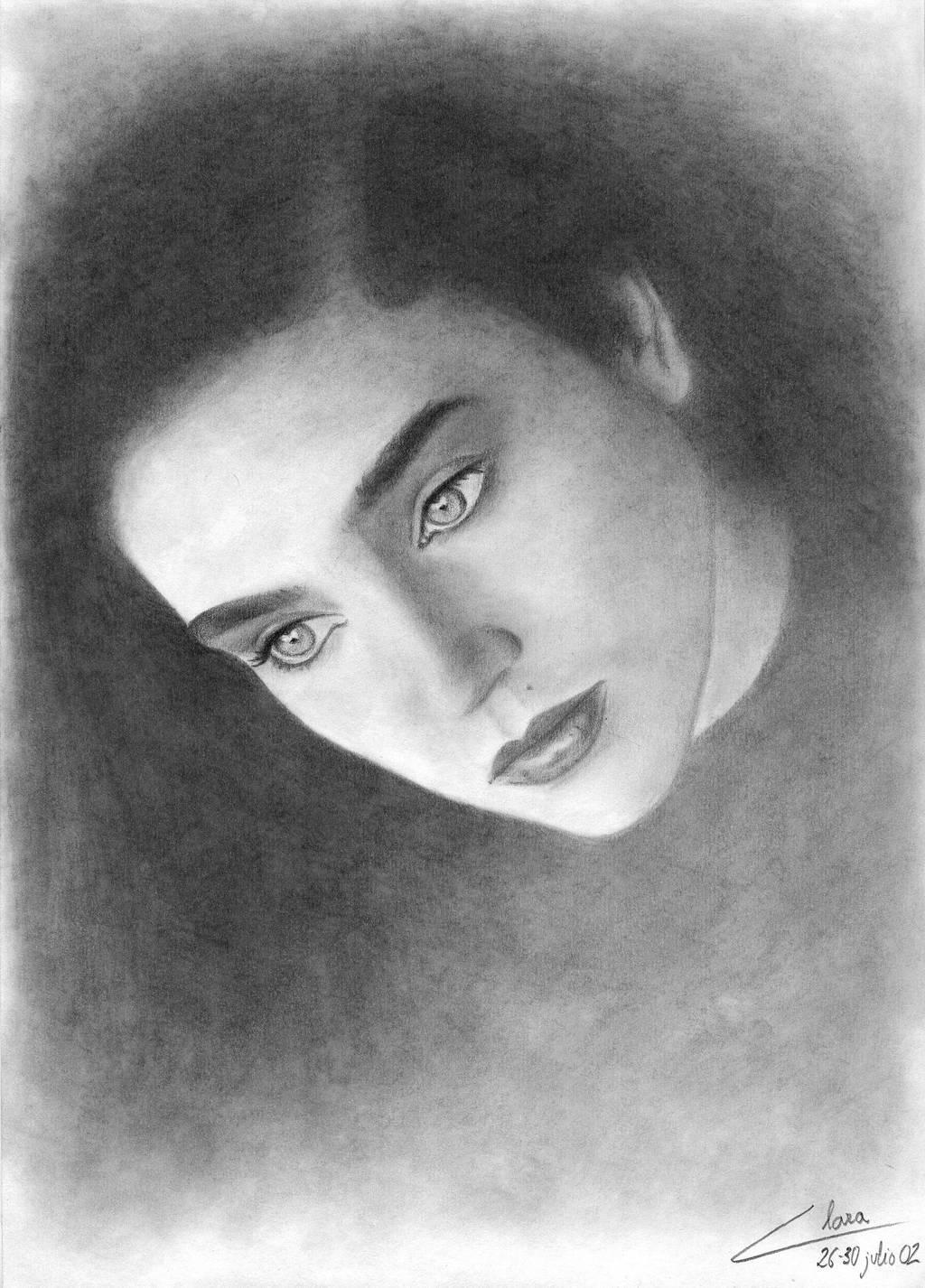 Jennifer Connelly by ClaraDarko