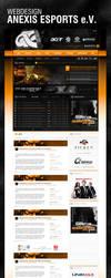 Anexis Esports Webdesign by ryKoGOD