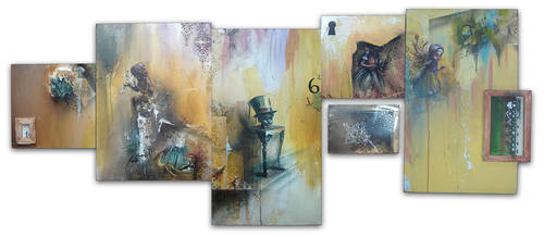 Painting Series by DelRey