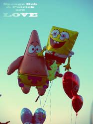 Sponge Bob and Patrick areLOVE by 6igella