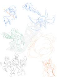 Oodles of doodles 3 by GoblinHordeStudios