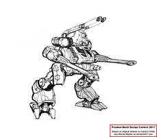 Camel Assault Mech by Excalibur-T005
