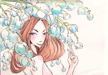 13 of 26 Lily of the valley 01 by MayFan