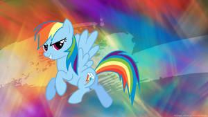 Rainbow Flash by SailorCardKnight