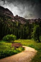 Hiking trail by McGoe