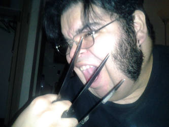 Fluffy Wolverine Cosplay by sicninja911
