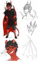 Demon Concept 1 by Dragonfangz
