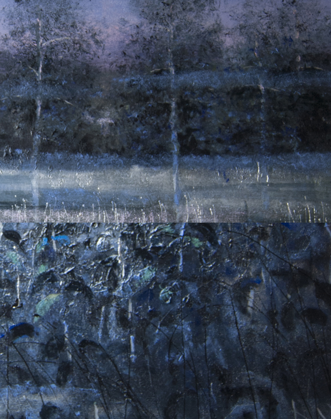 Blue hour - detail by lauraverde