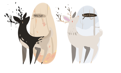 Deer adopts - closed - by PointAdoptsforyou