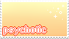 [stamp request] psychotic by amekin