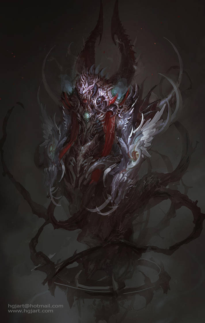 Nightmare demon by hgjart