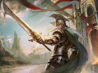 Holy Sword by hgjart