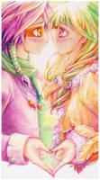 Kiss? by TetraOrb