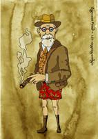 Sigmund Freud by gduch