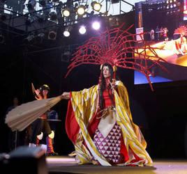 Yuuko at Wcs 07-Japan-big fan- by Mary-cosplay