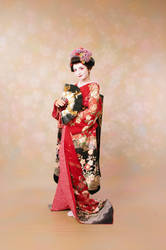 Geisha photoset 3 front by Mary-cosplay