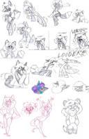 Keroa sketch dump by Wolf-Shadow77