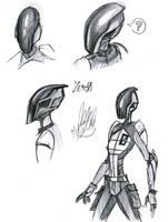 Zer0 Studies by Wolf-Shadow77