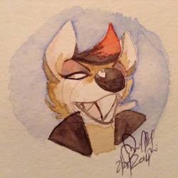 Kirsten watercolor by Wolf-Shadow77