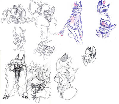 look at all these furries by Wolf-Shadow77