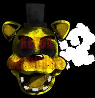 Golden Freddy by Wolf-Shadow77