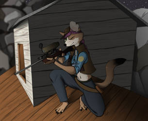 Commission - Take The Shot by Wolf-Shadow77