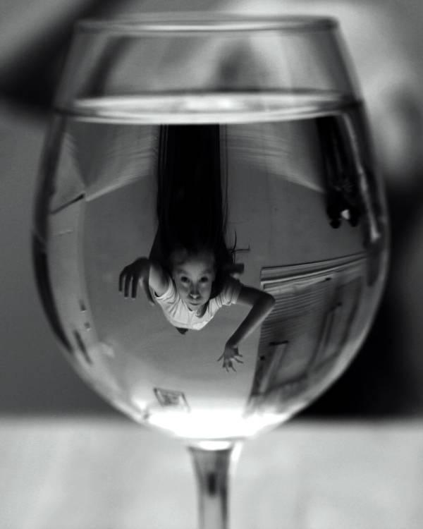 Little Swimmer by RandallSurreal