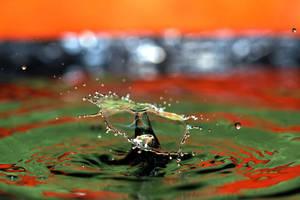 Water drop by RandallSurreal
