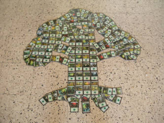 Green mana Symbol mosaic by NonoKraken