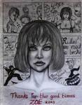 BULLY Portrait-Zoe Taylor by CursedMadara
