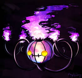 Chandelure by Angel-soma