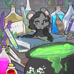 Potions Hamster by Angel-soma