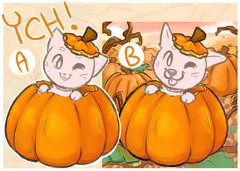 Autumn Pumpkin YCH by Angel-soma