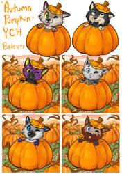 Autumn Pumpkin YCH Batch by Angel-soma
