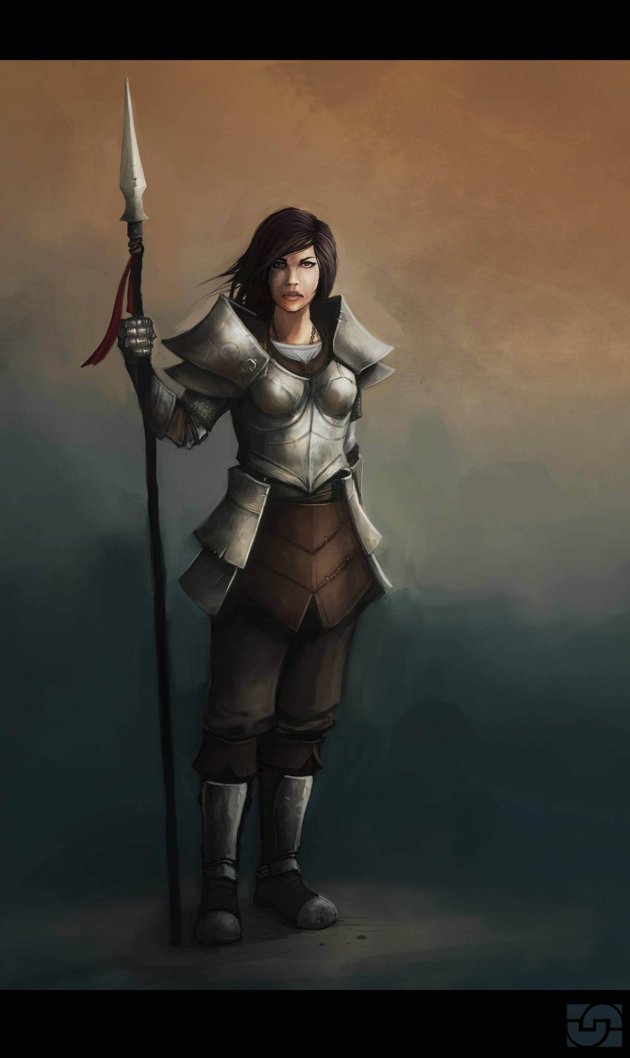 Soldierfemale by Callesw
