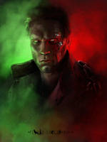 The Terminator by flavioluccisano