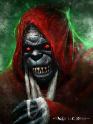 Mumm-Ra  (the demon-sorcerer) by flavioluccisano