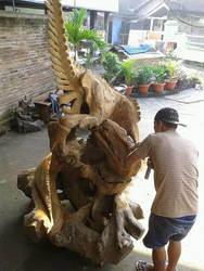 A Wood Raptor by armb8990